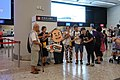 Hong Kong West Kowloon Station open day protester 20180901.jpg