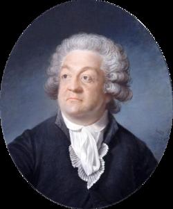 Portrait de Mirabeau,par Joseph Boze