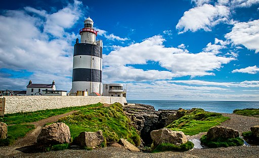 Hook Lighthouse from a different angle at Hookhead, Co Wexford, 19th September 2016