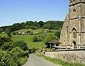 Horningsham Parish Church and view - geograph.org.uk - 1340718.jpg