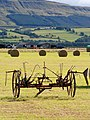 Horse-drawn Hay Turner At Rest - geograph.org.uk - 1444476.jpg