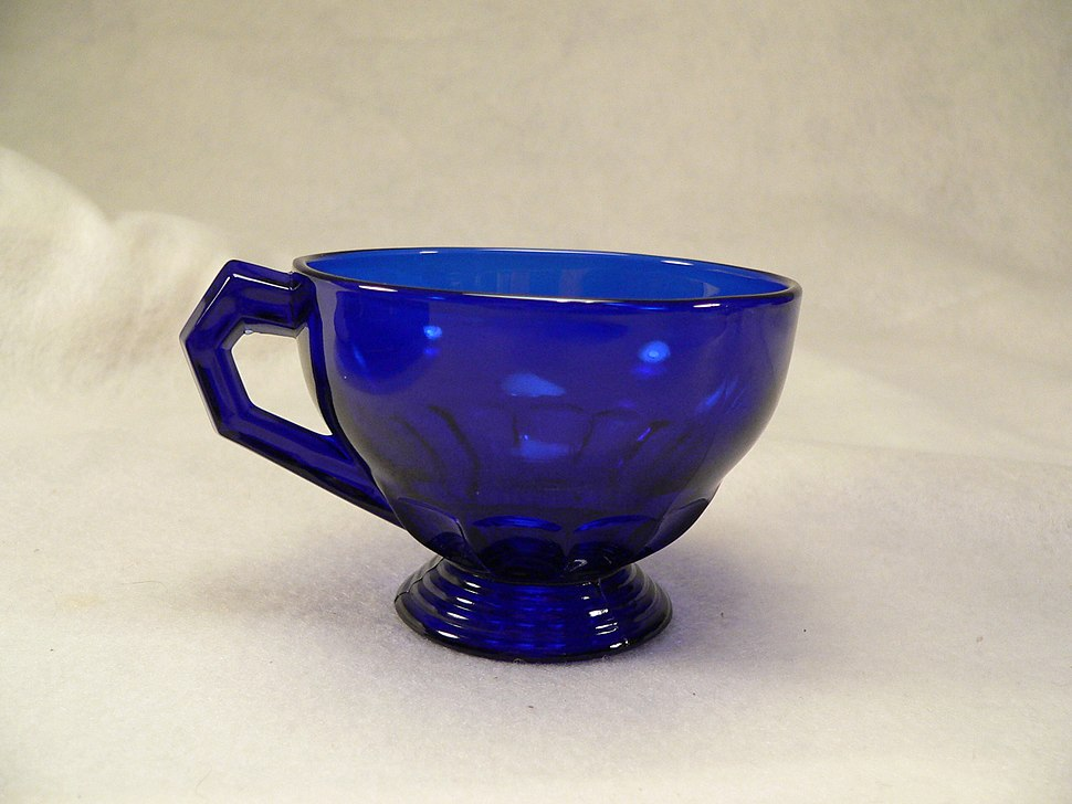 Hostmaster Tea Cup - Cobalt