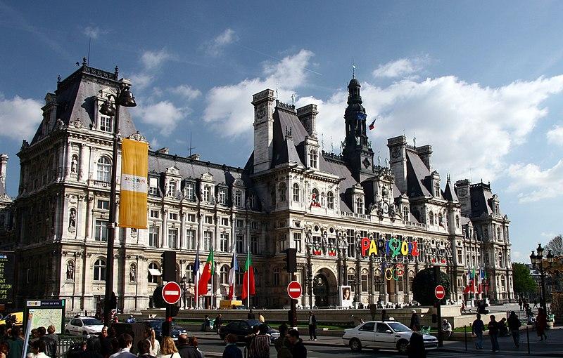 Image:Hotel de Ville de Paris, West view, cropped.jpg