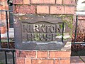 House Sign carved in sandstone - geograph.org.uk - 659741.jpg