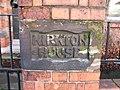 House Sign carved in sandstone - geograph.org.uk - 659741.jpg