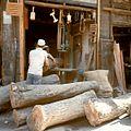 Houtzagerij - Stichting Nationaal Museum van Wereldculturen - TM-20036660.jpg