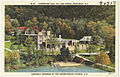 Howerton Hall on Lake Susan, Montreat, N. C., assembly grounds of the Presbyterian Church, U.S. (5811477165).jpg