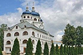 Храм Св. Ксении Петербуржской Николо-Сольбинского монастыря