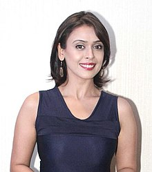Hrishitaa Bhatt during trailer launch of the film 'Chal Jaa Bapu'.jpg