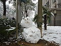 Huazhong University of Science and Technology - a snowman - P1050017.JPG