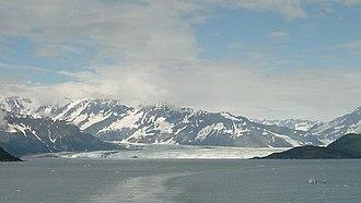 Hubbard Glacier - Image: Hubbard Glacier Far