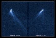 Hubble views extraordinary multi-tailed asteroid P2013 P5