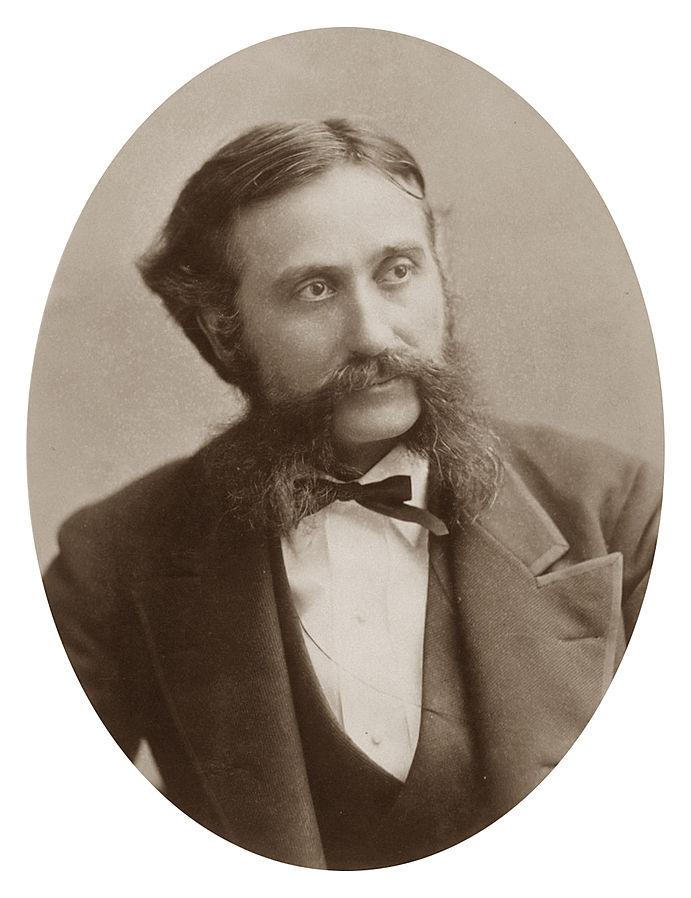 portrait de Hubert Howe Bancroft