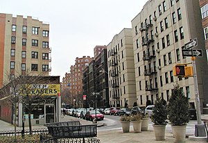 Cabrini Boulevard - Cabrini Boulevard, looking south from 187 Street.