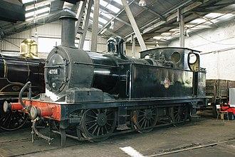 Midland Railway 1377 Class - 41708 at Barrow Hill