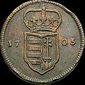 Hun Rakoczi XX Poltura 1705 Huszar 1529 obverse.jpg
