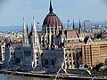 Hungarian Parliament Building from Castle Hill, 2013 Budapest (176) (13228963693).jpg