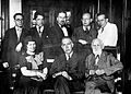 I. P. Pavlov with Niels Bohr and Mrs Bohr, 1935. Wellcome L0023482.jpg
