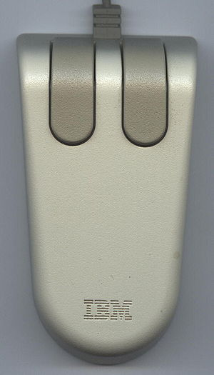 IBM Personal System/2 - The original IBM PS/2 mouse.