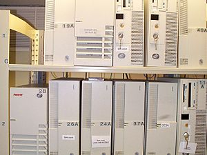 IBM AIX - AIX RS/6000 servers running ibm.com in early 1998