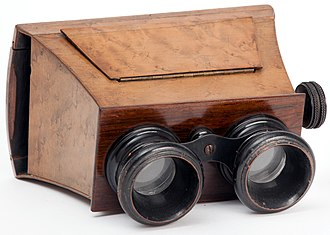 Stereoscope - Brewster-type stereoscope, 1870