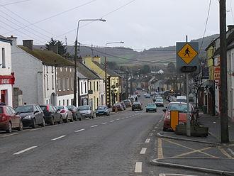 N80 road (Ireland) - N80 through Stradbally where it is crossed by the R427