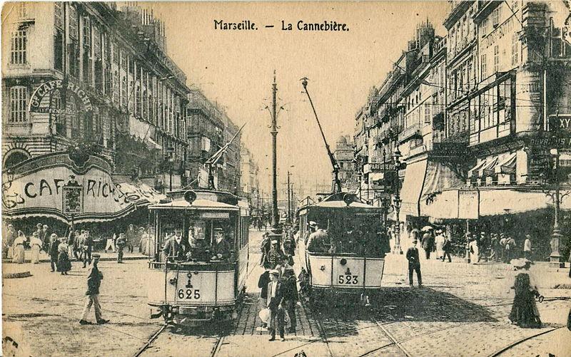 Fichier:INCONNU - Marseille - La Cannebière.JPG