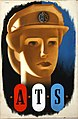 INF3-113 Forces Recruitment ATS (girl's head) Artist Abram Games.jpg