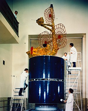 Intelsat - An Intelsat IVA Satellite