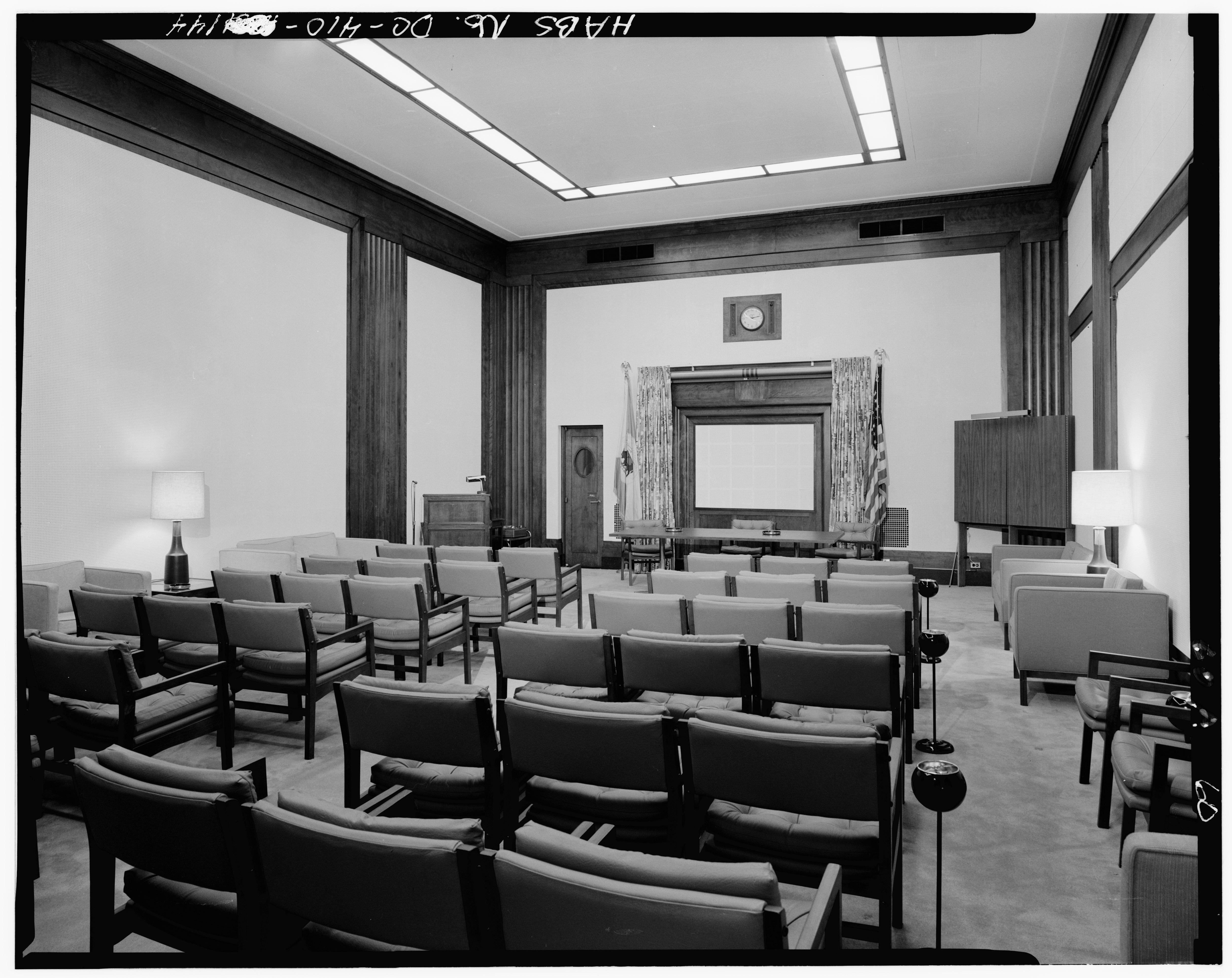 File Interior Eighth Floor North Penthouse Main Studio Looking Southeast U S Department