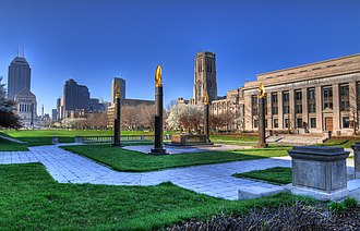 Indiana World War Memorial Plaza - Cenotaph Square