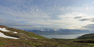 Neskaupstaður - Icelandic Landscape near Neskaupstaður July 2014