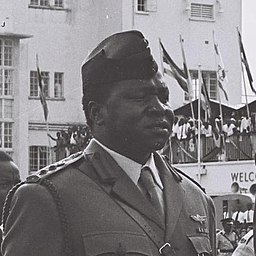 Idi Amin en 1966