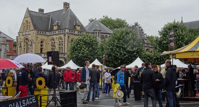 Ieper - Tour de France, étape 5, 9 juillet 2014, départ (A45).JPG
