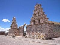 Iglesia colonial de San Cristobal