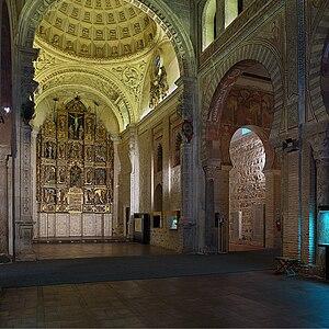 Iglesia de San Román, Toledo - Image: Iglesia de San Román (Toledo). Capilla Mayor