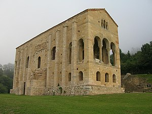 Asturias - Santa María del Naranco, ancient palace of Asturian Kings, 842 AD