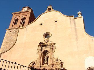 Arcos de las Salinas - Image: Iglesia de la Inmaculada Arcos de las Salinas