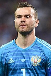 Igor Akinfeev Russian professional footballer