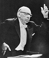 Igor Strawinsky, 1965 (Quelle: Wikimedia)