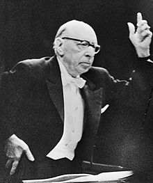 stravinsky conducting in 1965