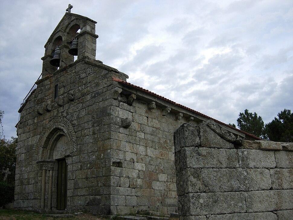 Igrexa de Santo André de Abelenda das Penas, Carballeda de Avia