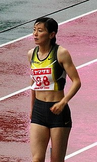 Kumiko Ikeda Japanese long jumper