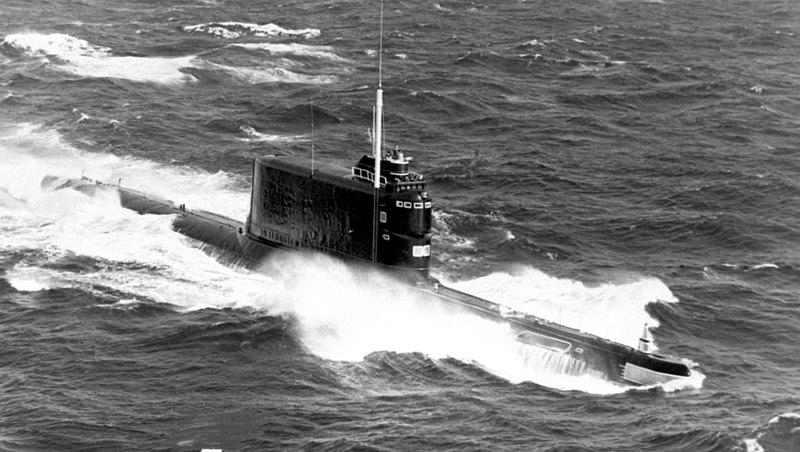 File:Image Submarine Golf II class.jpg