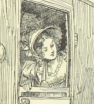 Emma Woodhouse - Emma in an illustration by Hugh Thomson from an 1896 edition of the novel