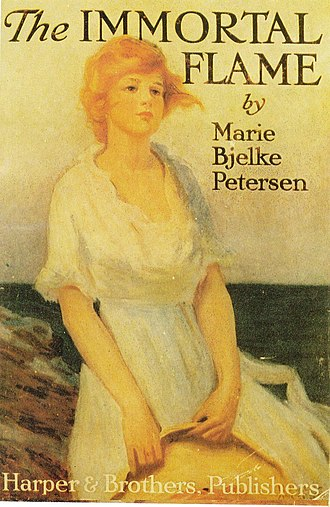"Marie Bjelke Petersen - New York edition of ""The Immortal Flame"" 1919"