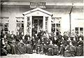 In front of Vladimir Barkanov's photographic studio. 1872.jpg