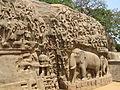 India - Mamallapuram - 030 - Arjunas Penance Bas Relief (490988077).jpg
