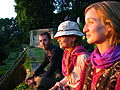 India - Srinagar - 027 - enjoying sunset at Nishat Bagh Mughal Gardens.jpg