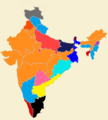 Indian states by Ruling Party.png